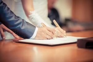 Signing register photo